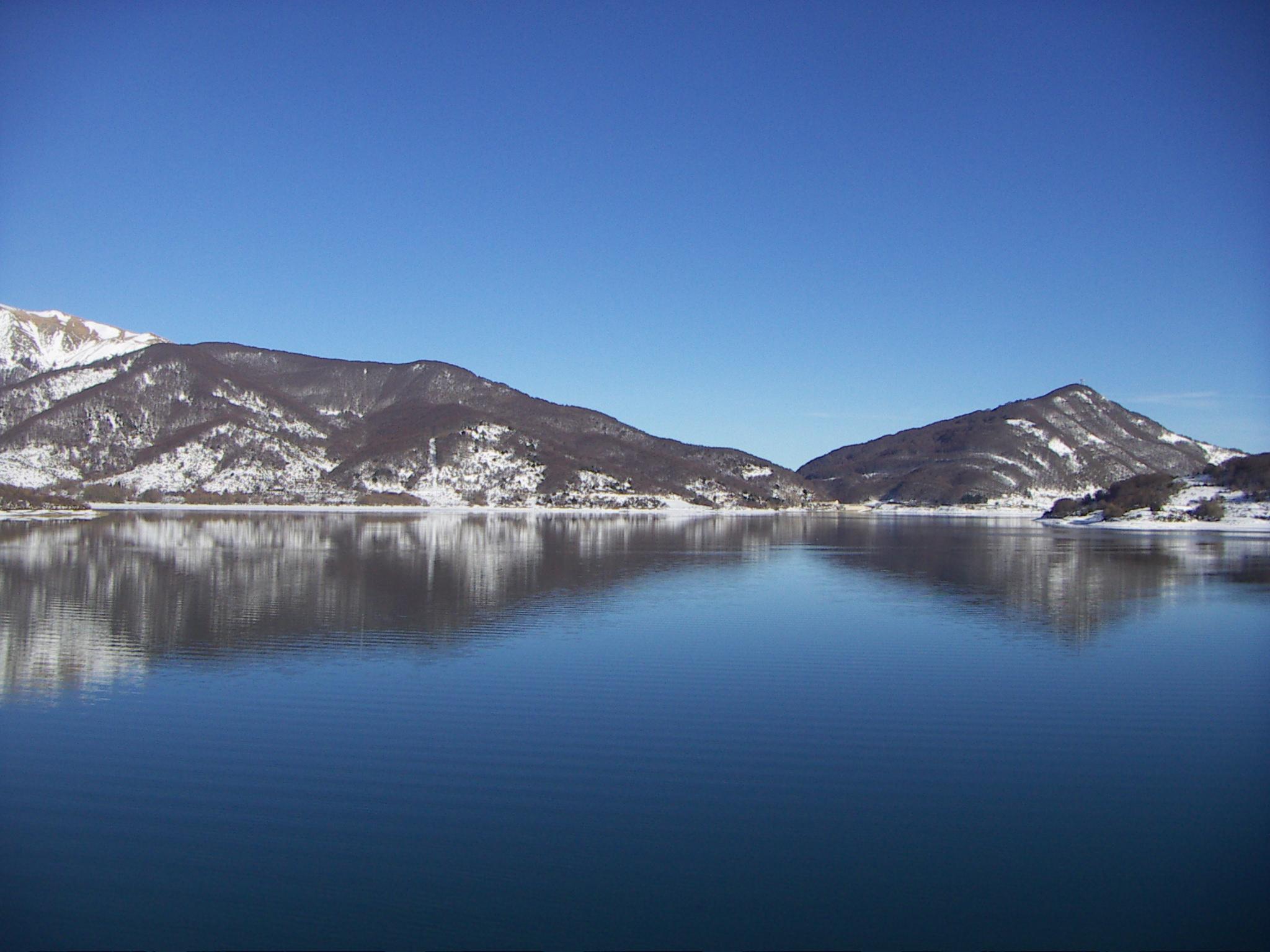 Lago Campotosto 2 Dicembre 2015