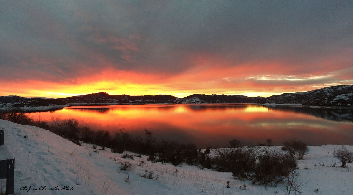 campotosto_tramonto