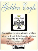 Herbal Smoking Blend, Golden Eagle